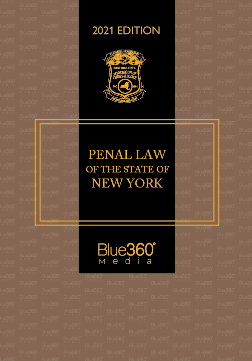 New York Penal Law 2021 Edition