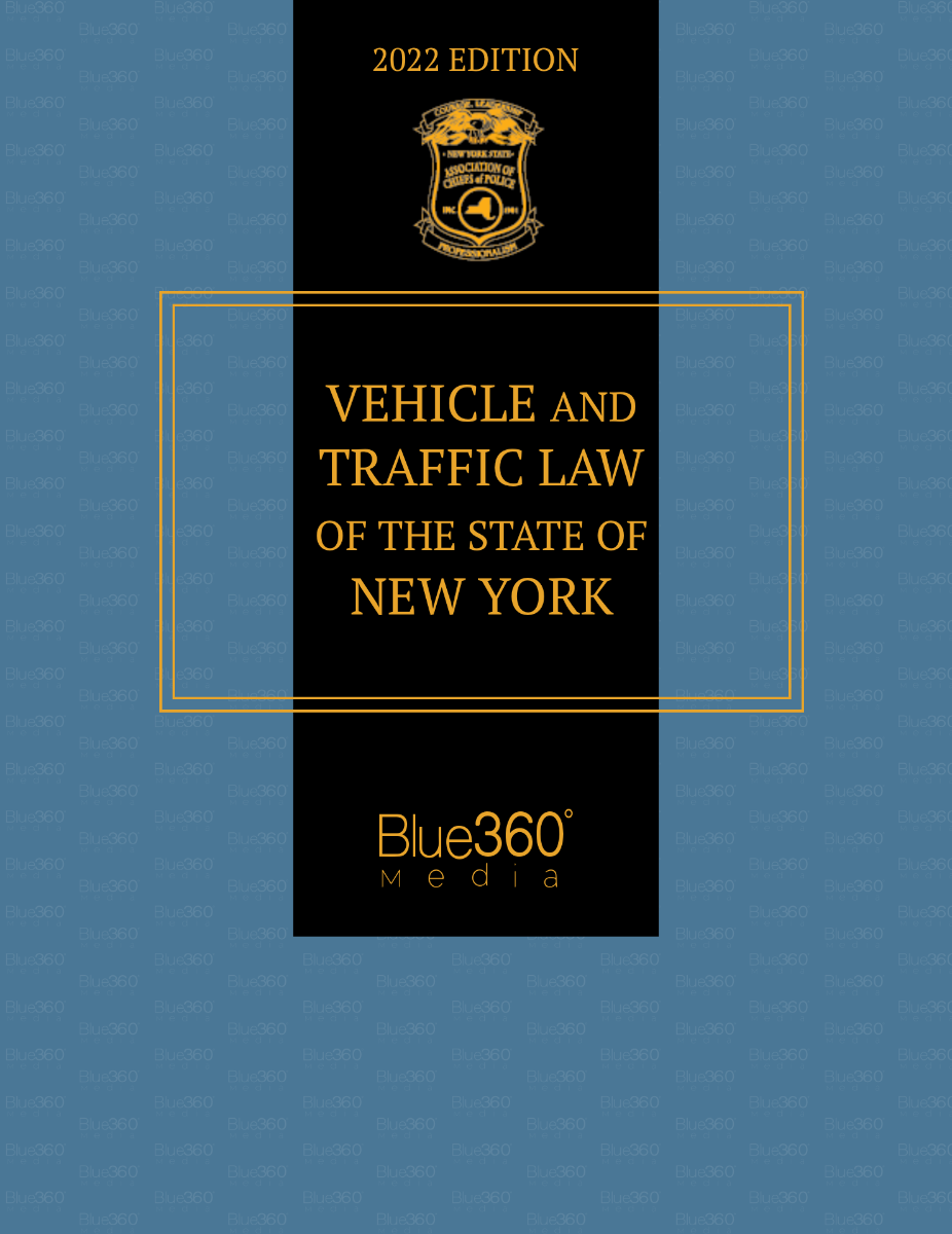 Vehicle and Traffic Law of the State of New York 2022 Edition - Pre-Order