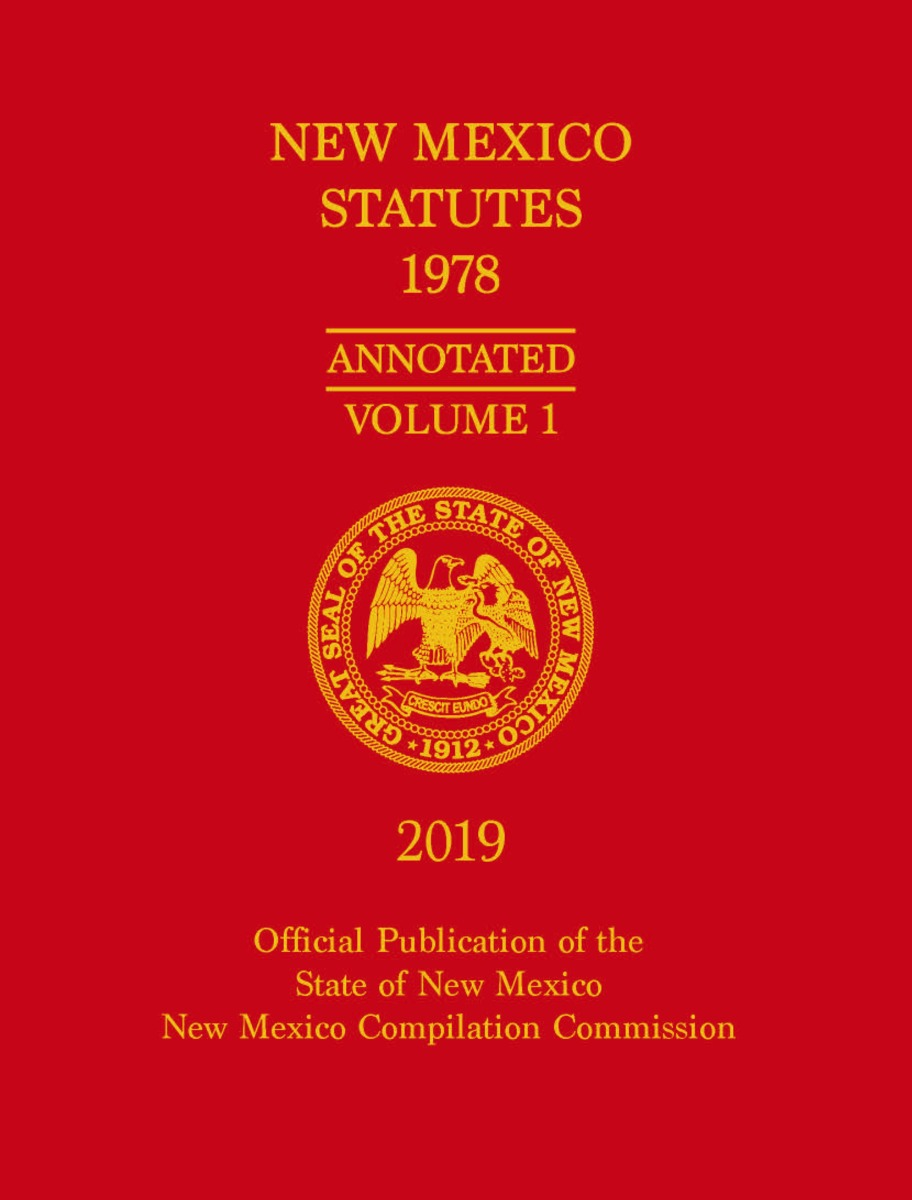 Official 2019 New Mexico Statutes Annotated 1978™ (Full Set)