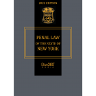 New York Penal Law 2022 Edition - Pre-Order
