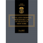 Penal & Criminal Procedure Law of the State of New York 2022 Edition - Pre-Order